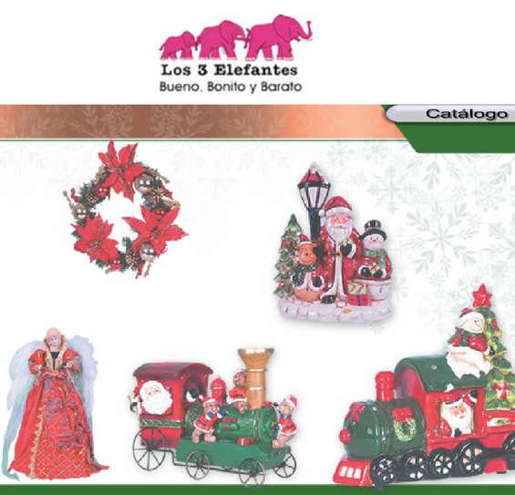 Ofertas de Los Tres Elefantes, Catálogo Navidad