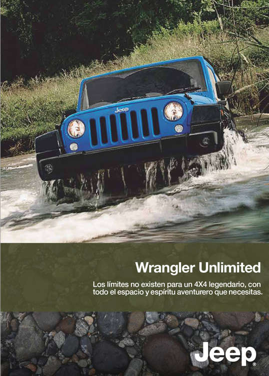 Ofertas de Jeep, Wrangler Unlimited 2016