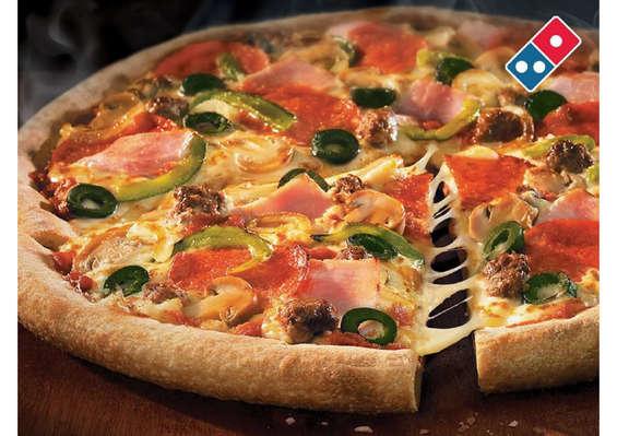 Ofertas de Domino's Pizza, Pizza