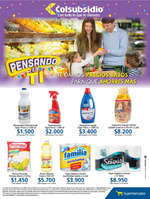 Ofertas de Supermercados Colsubsidio, Pensando en ti - Te damos precios bajos para que ahorres más