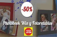 Descuentos Photobook Win y Fotoretablos