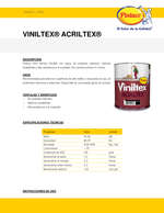 Ofertas de Pintuco, Viniltex Acriltex