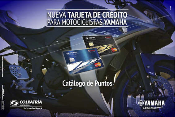 Ofertas de Colpatria, Catálogo Yamaha
