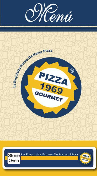 Ofertas de Pizza 1969 Gourmet, Menú