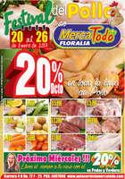 Ofertas de MercaTodo, Festival del Pollo en MercaTodo - Floralia