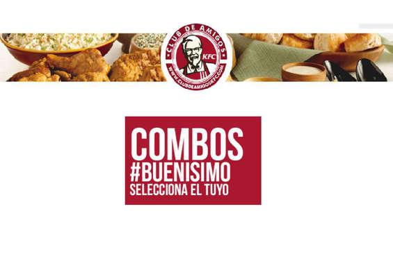 Ofertas de KFC, Combos