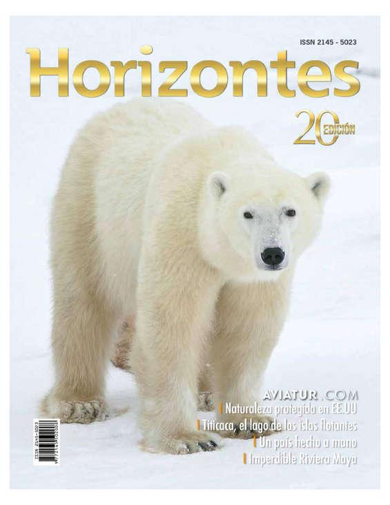 Ofertas de Aviatur, Revista Horizontes Edición 20
