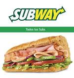 Ofertas de Subway, Todos los Subs