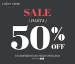 Ofertas de Color Siete, Sale - Hasta 50% off en referencias seleccionadas
