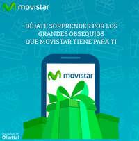 Déjate sorprender con los grandes obsequios que Movistar tiene para ti