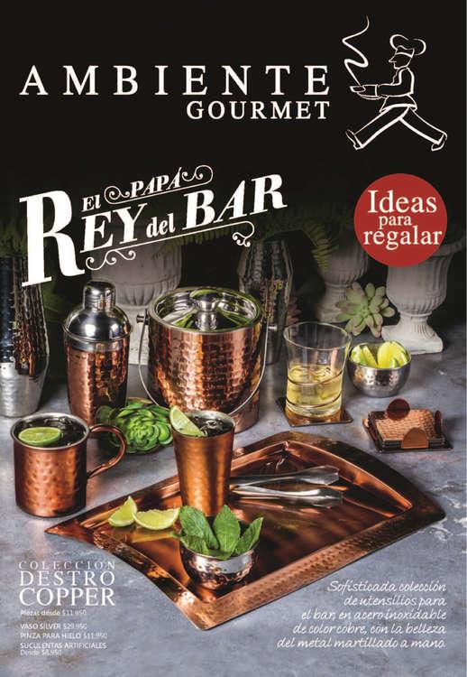 Ofertas de Ambiente Gourmet, El papá rey del bar - Ideas para regalar