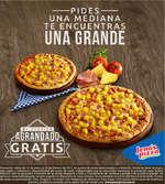 Ofertas de Jeno's Pizza, Agranda tu pizza