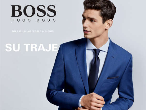 Ofertas de Hugo Boss, Su traje