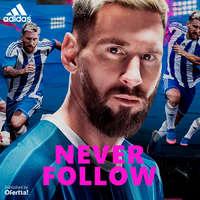 Never Follow. Blue Blast Messi 16