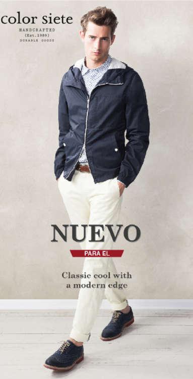 Ofertas de Color Siete, Nuevo para él - Classic cool with a modern edge