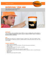 Ofertas de Pintuco, Intervinil Pro 400