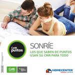 Ofertas de HomeCenter, Catálogo Homecenter - Puntos CMR