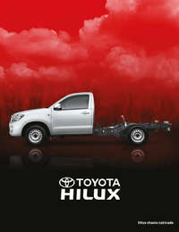 Hilux chasis cabinado