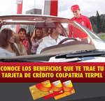 Ofertas de Colpatria, Tarjeta de Crédito Colpatria Terpel