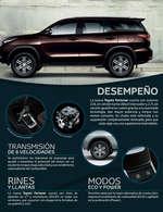 Ofertas de Toyota, Toytota Fortuner-sw4