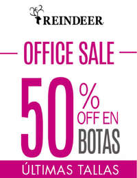 Office Sale - 50% Off en botas