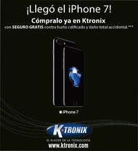 Ktronix Bogotá Septiembre  - ¡Llegó el Iphone 7!