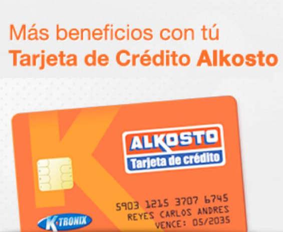 Ofertas de Alkosto, Tarjeta de Crédito Alkosto