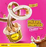 Ofertas de Helados Mimos, Mixer Mimo´s hechos con Deditos