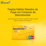 Ofertas de Bancolombia, Tarjeta Débito Maestro