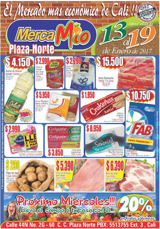 Ofertas de MercaMío, El mercado más económico de Cali - Plaza Norte