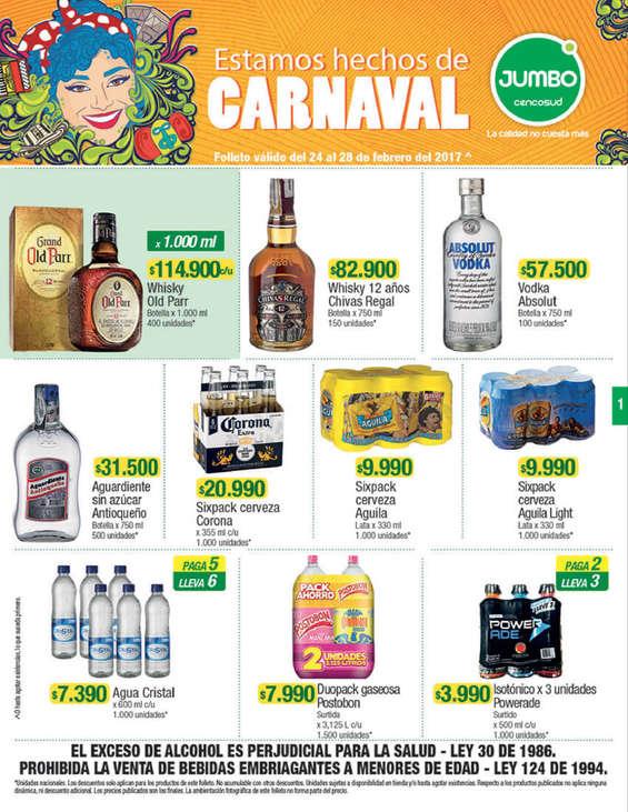 Ofertas de Jumbo, Estamos hechos de carnaval