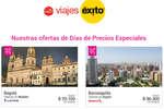 Ofertas de Viajes Éxito, Días de precios Especiales