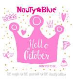 Ofertas de Nauty Blue, Hello October