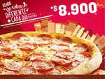 Ofertas de Papa John's, Pizza del día