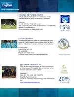 Ofertas de Droguerías Cafam, Convenios Deportes