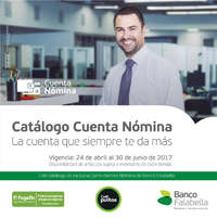 Catálogo Cuenta Nómina