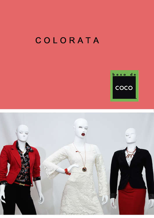 Ofertas de Beso de Coco, Lookbook Colorata