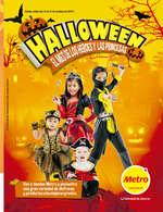 Ofertas de Metro, Halloween - el mes de lo héroes y las princesas