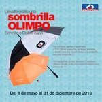 Ofertas de Super Almacenes Olímpica, Llévate gratis una sombrilla Olimpo