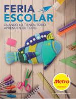 Ofertas de Metro, Feria Escolar - Cuando lo tienen todo aprenden de todo