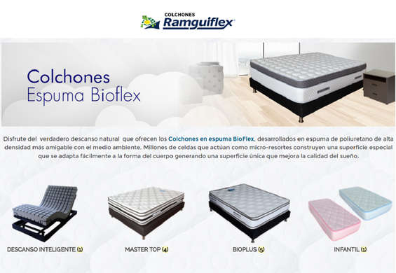 Ofertas de Ramguiflex, Colchones de espuma