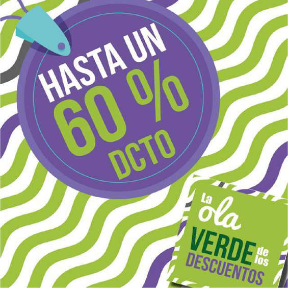 Ofertas de Óptica Colombiana, La ola verde de los descuentos - Hasta un 60%dcto