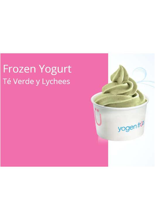 Ofertas de Yogen Früz, Frozen Yogurt