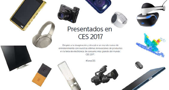 Ofertas de Sony, Sony CES 2017