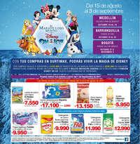 Con tus compras en Surtimax, podrás vivir la magia de Disney