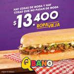 Ofertas de Sandwich Qbano, Ropa Vieja