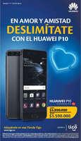 Ofertas de Tigo, En Amor y Amistad Deslimítate con el Huawei P10