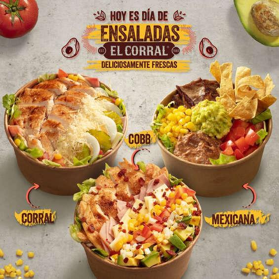 Ofertas de El Corral, Ensaladas El Corral