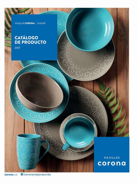 Ofertas de Corona Puntos de Venta, Catálogo de Producto - Vajillas Hogar