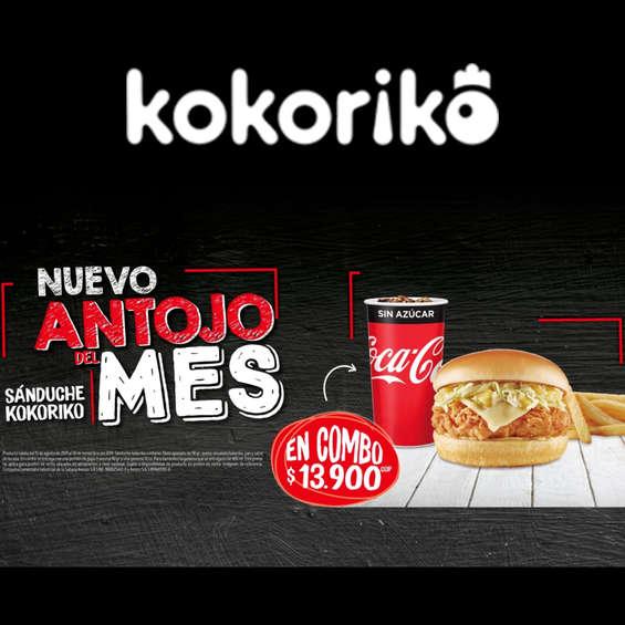 Ofertas de Kokoriko, Nuevo Antojo Del Mes